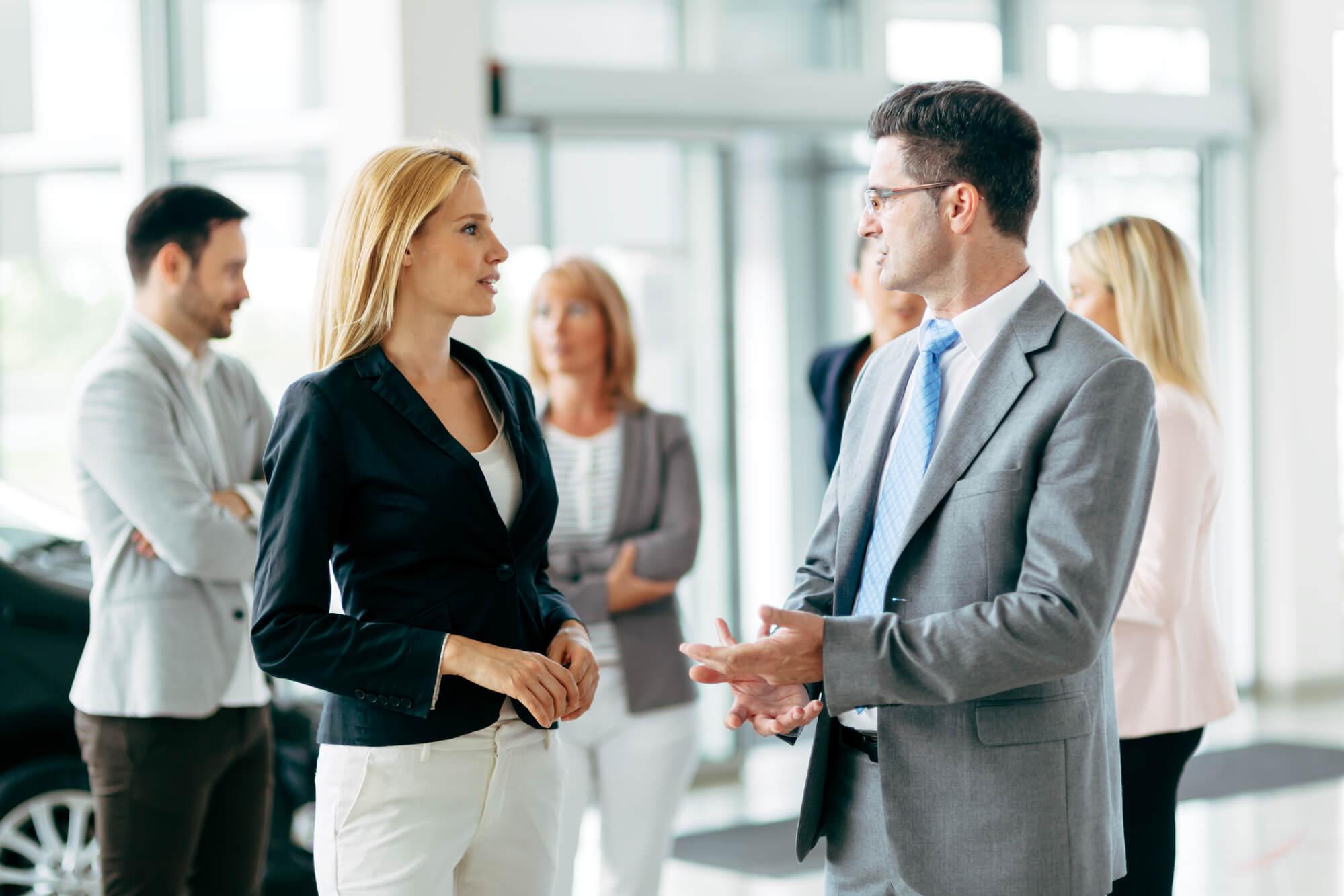 vendedores alinhados com a cultura da empresa